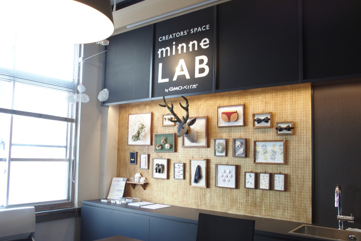minneLAB福岡 作品展示ギャラリー